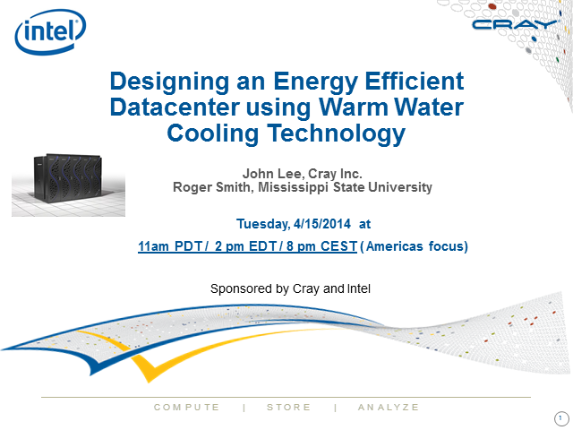 Designing an Energy Efficient Datacenter Using Warm Water Cooling Technology