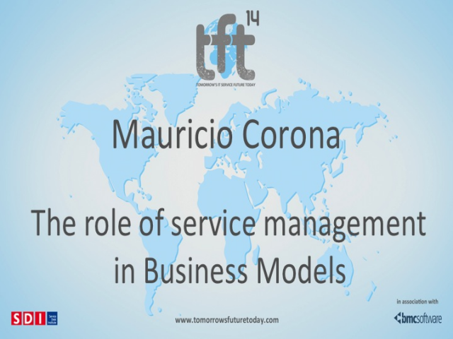 The Role of Service Management in Business Models. TFT14