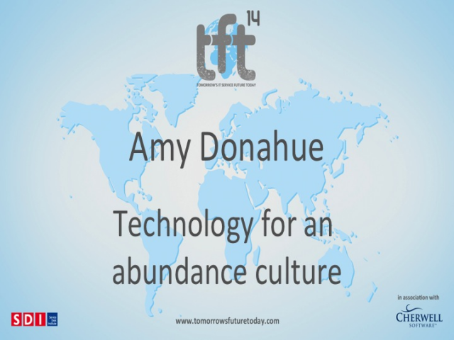 Technology for an Abundance Culture. TFT14