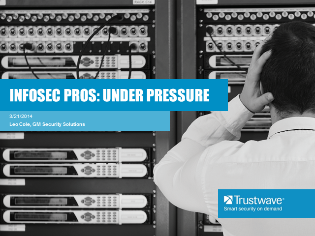 2014 Security Pressures from Trustwave