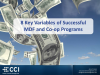 The 8 Key Variables of Successful MDF and Co-op Programs