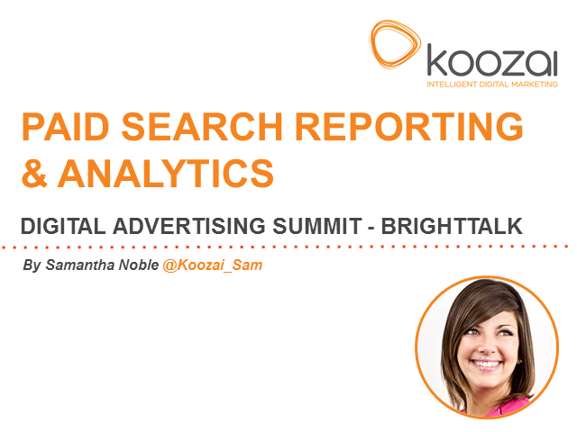 Paid Search Reporting And Analytics
