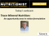 NEN Webcast – Trace mineral nutrition