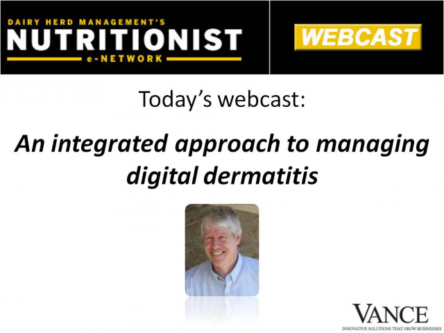 An integrated approach to managing digital dermatitis