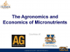 Free Webinar — The Agronomics and Economics of Micronutrients