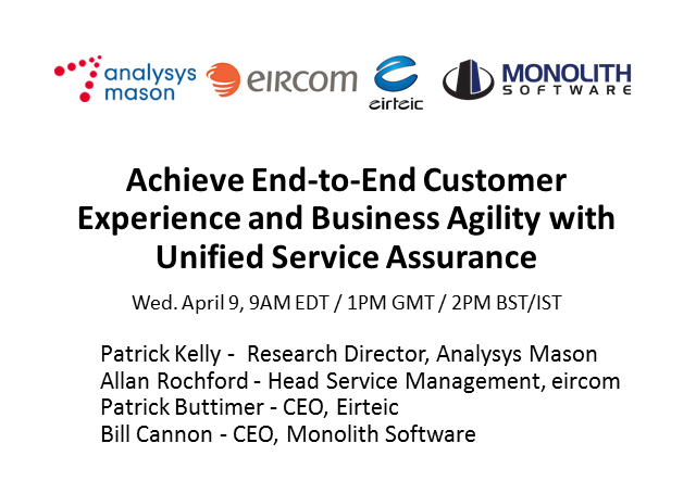Achieve Customer Experience and Business Agility with Unified Service Assurance