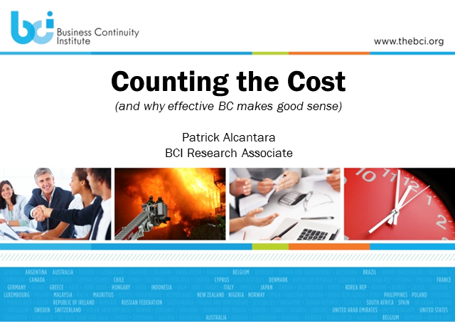 Counting the cost - a meta analysis of the cost of ineffective BC