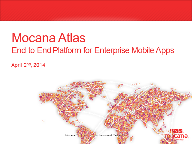 Introducing Mocana Atlas - Your Extended Enterprise Engine