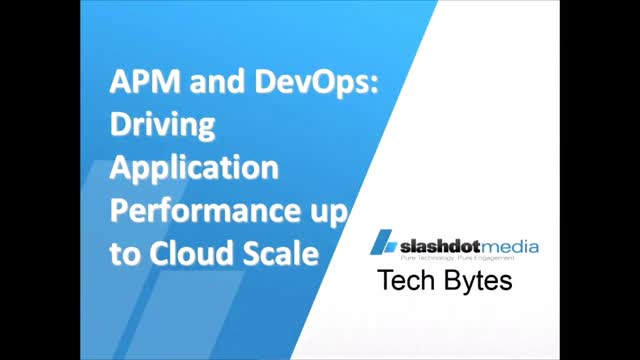 APM and DevOps: Driving Application Performance Up to Cloud Scale
