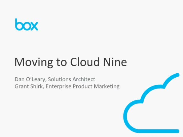 5 Steps to Moving to Cloud Nine