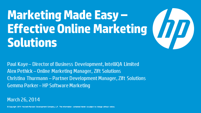 Marketing Made Easy – Effective Online Marketing Solutions