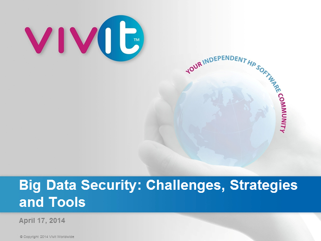 Big Data Security: Challenges, Strategies and Tools