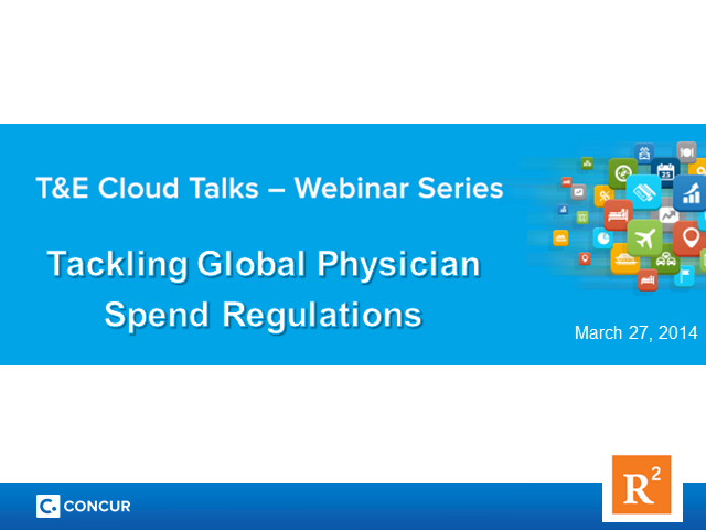 Tackling Global Physician Spend Regulations