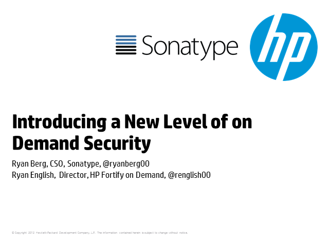 Introducing a New Level of on Demand Application Security