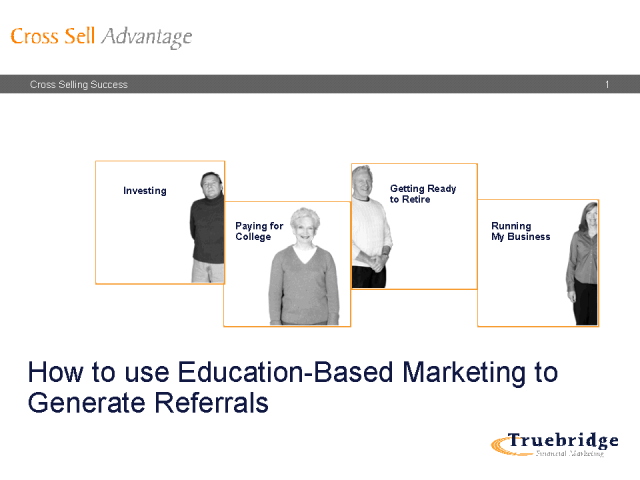 How to use Education-Based Marketing to Generate Referrrals