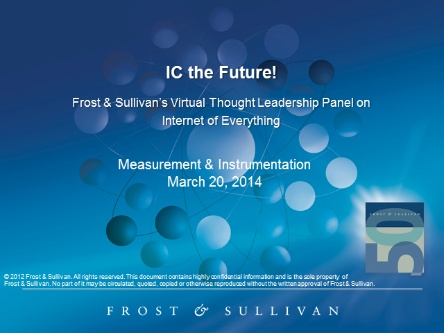 IC the Future! – A Virtual Thought Leadership Panel