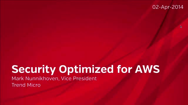 Optimizing Security for Amazon Web Services