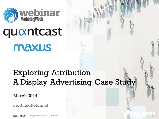 Exploring Attribution – A Display Advertising Case Study