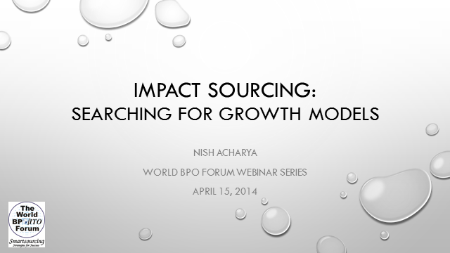 Making the Business Case for Impact Sourcing