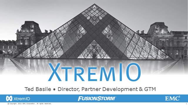 EMC XtremIO All Flash Arrays - Deliver EXTREME Functionality
