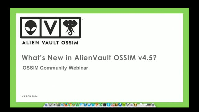 OSSIM User Training: Detect and Respond to Threats More Quickly with OSSIM v4.5