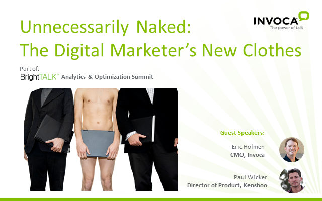 Unnecessarily Naked: The Digital Marketer's New Clothes