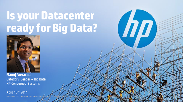 Is your Data Center Ready for Big Data?