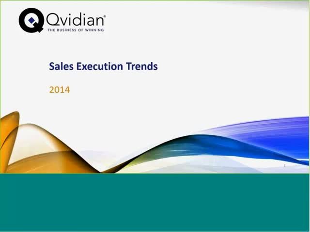 2014 Sales Execution Trends