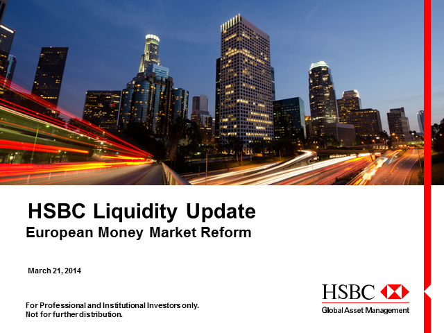 Liquidity - European MMF Reform