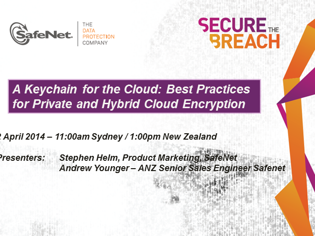 A Keychain for the Cloud: Best Practices for Private and Hybrid Cloud Encryption