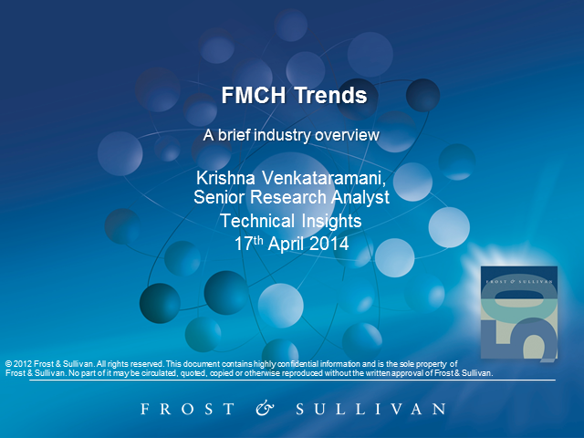 Opportunities in Fast-Moving Consumer Health (FMCH)