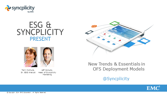 New Trends & Essentials in Online File Sharing Deployment Models