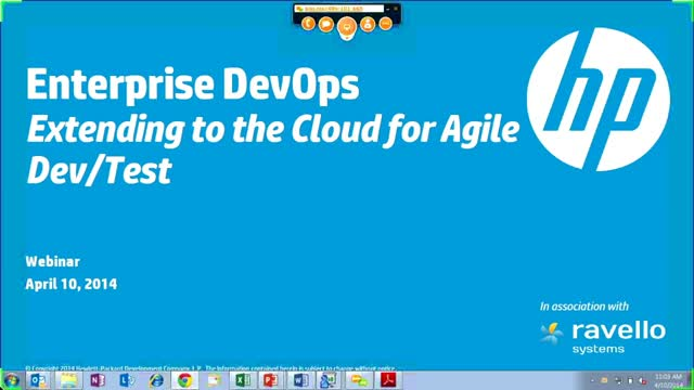 Enterprise DevOps: Extending to the cloud for Agile Dev/Test