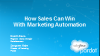 How Sales Can Win with Marketing Automation