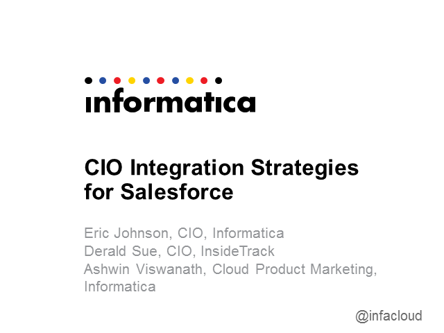 CIO Integration Strategies for Salesforce