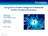 Using Online Threat Intelligence to Assess and Predict Threats to Executives