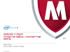 Defence In Depth – McAfee Web Gateway + Advanced Threat Defence