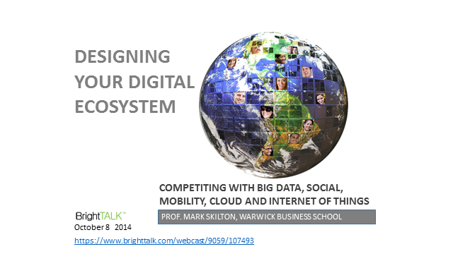 How to Design Your Digital Ecosystem?
