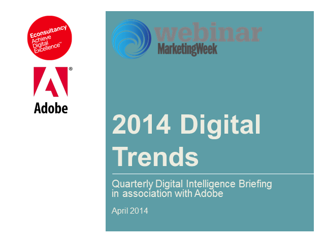 The 10 hottest digital marketing trends for 2014.