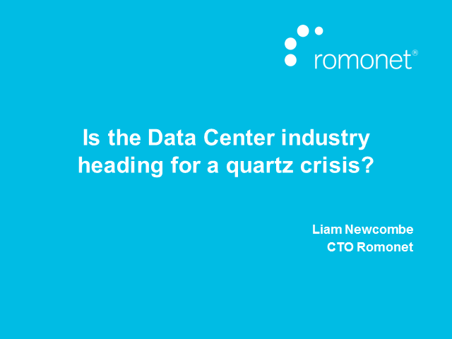 Is the data center industry heading for a quartz crisis?