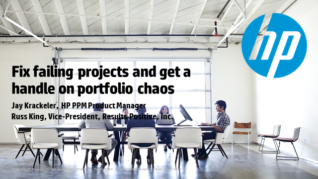 Fix failing projects and get a handle on portfolio chaos