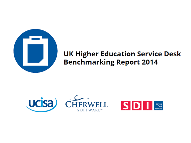 UK Higher Education Service Desk Benchmarking Report: The Results