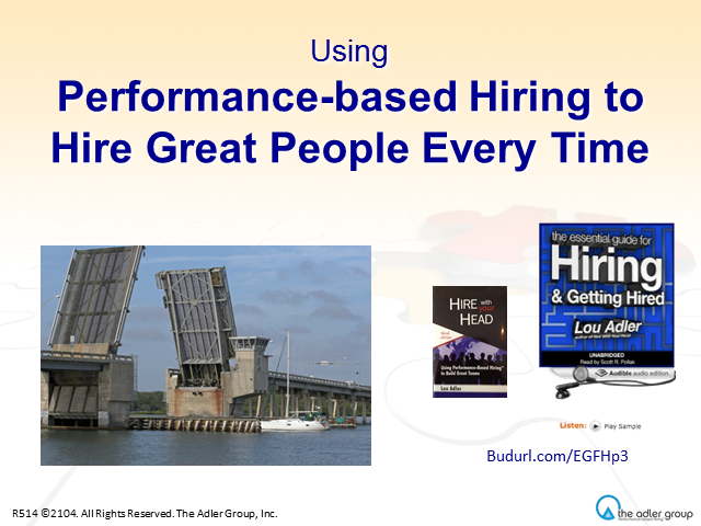 Hiring Great People Starts with a Great Job