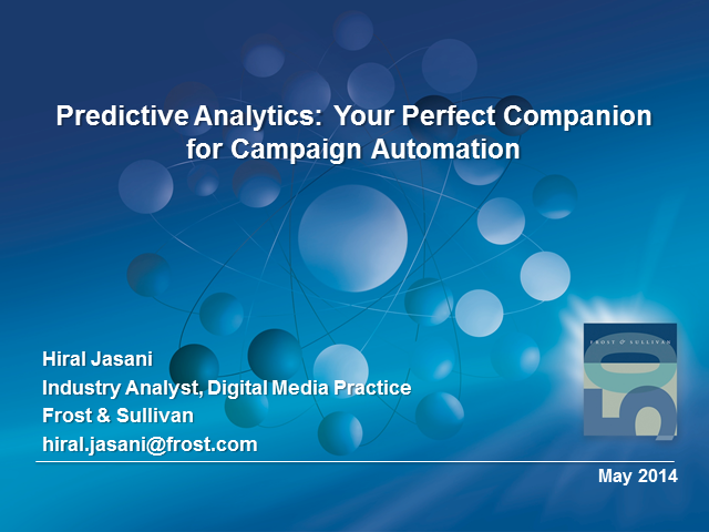 Predictive Analytics: Your Perfect Companion for Campaign Automation