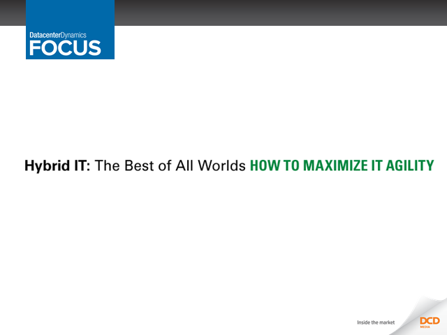 Hybrid IT: The Best of All Worlds