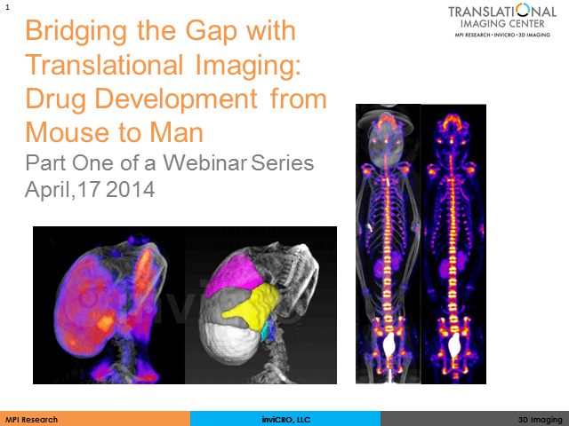 Bridging the Gap with Translational Imaging: Drug Development from Mouse to Man