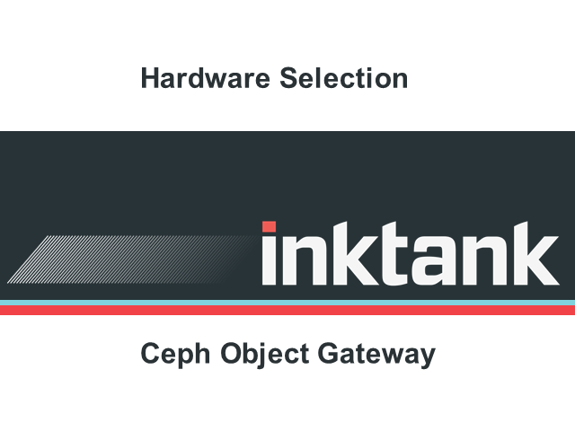 How to pick servers for the Ceph object gateway?