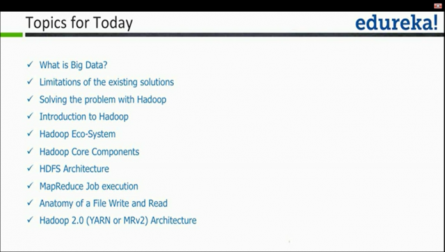 Discussion on Hadoop and its Architecture.
