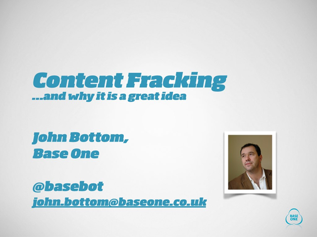Why 'content fracking' is a valuable new idea for B2B marketing success
