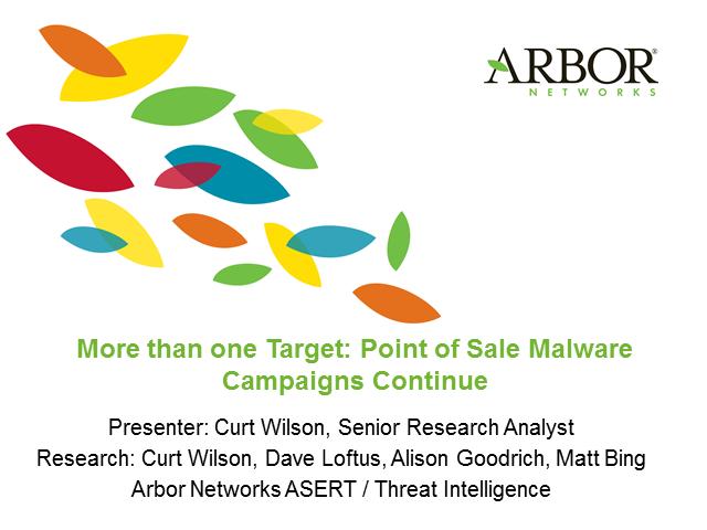 More than One Target: Point of Sale Malware Campaigns Continue